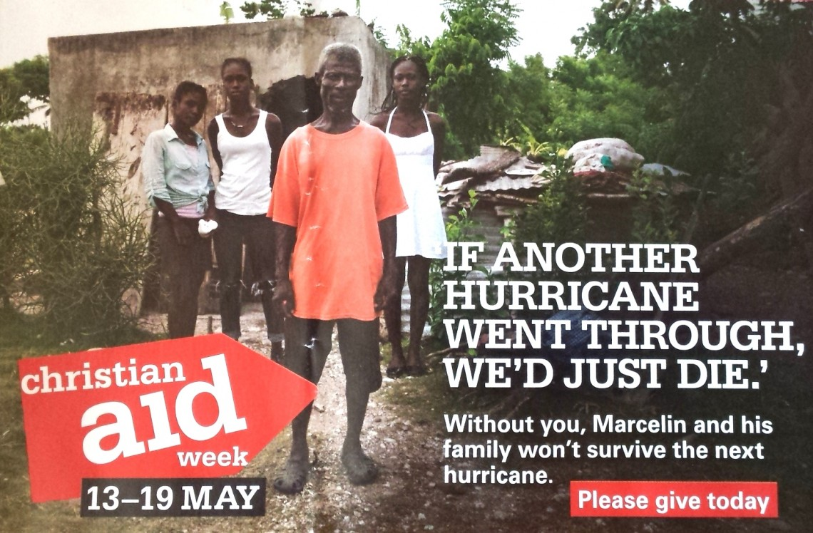 2018. 05. 13 - Christian Aid Week envelope for 2018