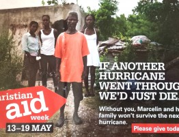 2018. 05. 13 - Christian Aid Week envelope for 2018