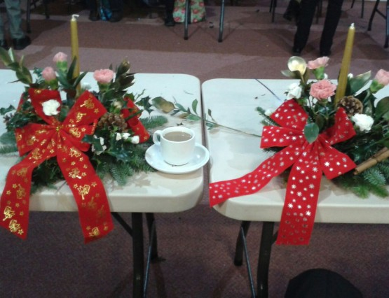 2016. 11. 29 - Christmas Floral Workshop - by Sue Rollisson (3)