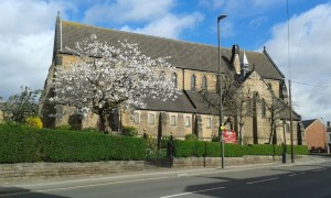 2017. 03. 31 - Holy Trinity with Spring blossom - by John Rollisson